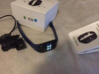 Sport watch band heart rate monitor smart