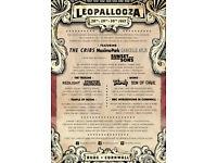 2 x Leopallooza festival wkend tickets for this wkend Fri28-Sun30 July