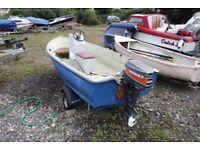 Bonwitco 12ft Fishing/Pleasure Boat.