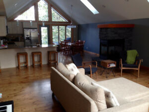 Beautiful family home for rent in Canmore