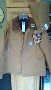Carhartt Quilted Work Jacket and Hood