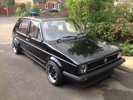 Volkswagen Golf GL 1.5 mk1 1982 classic 5door