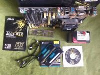 Asus A88x-PLUS motherboard + CPU AMD A10-7850K Black + 8GB RAM (2x4GB) 1600Mhz / can be sold apart