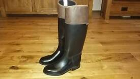 Fouganza horse riding boots uk size 5