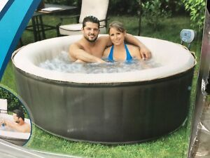 Spa gonflable portatif-  portable hot tub