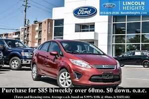2013 Ford Fiesta SE SEDAN - BLUETOOTH - HEATED FRONT SEATS