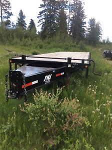 SWS 30 ft Pendal hitch trailer