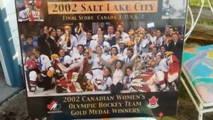 Team Canada Womens  Gold Medal Pictures