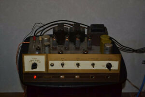 Five Tube Amps/Amplifiers and Boxes of Audio Tubes