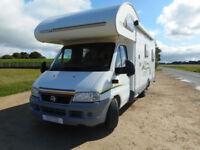 Swift Suntor 630L spacious 6-berth motorhome for sale Stroud