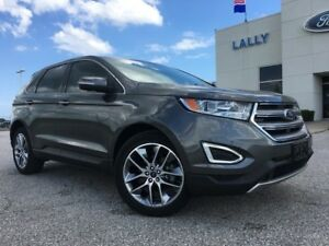 2015 Ford Edge Titanium FWD 2.0L EcoBoost LOADED