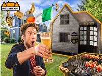 Inflatable Man Cave - Inflatable Pub