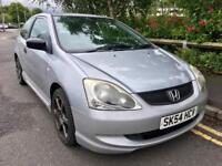 2004 Honda Civic 1.4 Low miles. Very Reliable 3 Door Full MOT