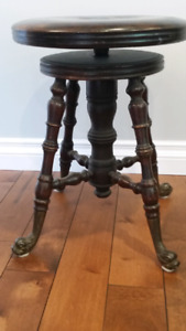 Piano stool with lots of character