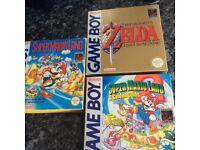 Gameboy games bundle Zelda etc