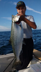 Individual Salmon fishing 115.00 Group fishing charters from 230