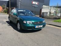 TOYOTA COROLLA 1.4 2001 LONG MOT SERVICE HISTORY FULLY LOADED AMAZING CAR