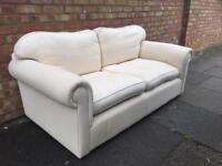 Laura Ashley Cream 2 Seater sofa