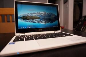Acer laptop chromebook R11 4gb ram touchscreen