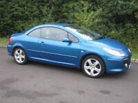 2006 Peugeot 307 2.0 Sport CC.Just 69k miles with FSH.New MOT.P/X welcome.