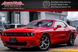 2016 Dodge Challenger R/T|Manual|Backup Cam|Bluetooth|Leather|Bl