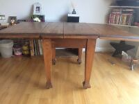 Solid Wood Expandable Dinner Table £50