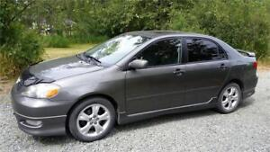 2006 Toyota Corolla XRS 1.8L 170 H.P. Only 114,200 KMS! $7,900
