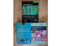 Contract Law Books £15 for all 3