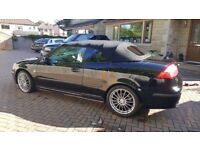 Black Saab 1.8T convertible 55 plate. Full electrics inc roof. AC real looker