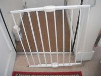 Expanding baby gate bar type.