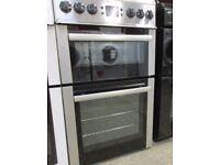 Beko BDV555AX 50cm Wide Electric Cooker