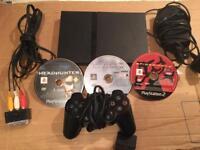 Sony PlayStation 2 slimline plus games