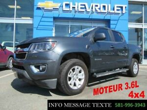 2015 CHEVROLET COLORADO 4WD CREW CAB LT