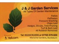 J & J Garden services