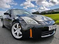 (Facelift) 2008 Nissan 350z 3.5 V6 313bhp GT Coupe! Sat-Nav! Bose Sound! Xenons! Rays Wheels! FSH!