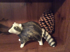 Strawberry Hill Pottery Racoon