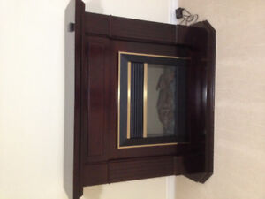Electric Fireplace $150