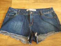 Ladies size 14 shorts