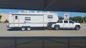 $4300. Trail Harbour 5th wheel ultralight