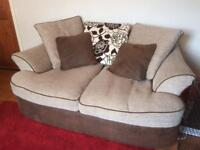 DFS 2 and 3 seater sofas for sale