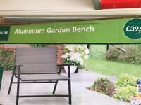 Brand New Aluminium Garden Bench
