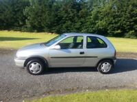 MINT 2000 CORSA B 1.0L PETROL FULL YEAR MOT LOW MILES ,ONE OF THE CLEANEST CORSA B's IN THE COUNTRY