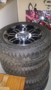 """Brand new 16""""rims and tires $700 obo"""