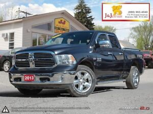 2013 RAM 1500 SLT Big Horn Ed.,Chrome Pkge