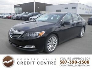 2014 Acura RLX Traet Yourself TO Luxury/Leather/Navi/ BSD