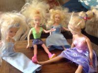 Barbie type dolls