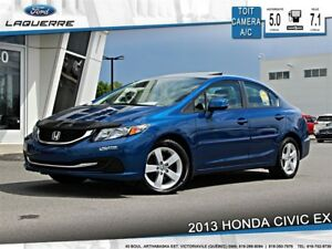 2013 Honda Civic EX**TOIT*CAMERA*CRUISE *A/C**
