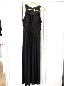 Size 16 black formal Gown