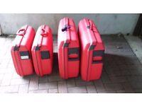 Samsonite hard suitcases