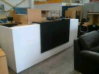 Hotel reception desk with led lighting. Excellent condition